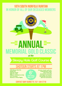 18th Memorial Gold Classic @ Sleepy Hole Golf Cours | Suffolk | Virginia | United States